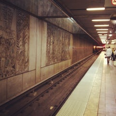 Photo taken at MARTA - Arts Center Station by Dean H. on 8/27/2012