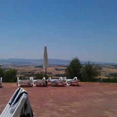 Photo taken at Agriturismo resort Belmonte Vacanze by Verhulst D. on 7/8/2012