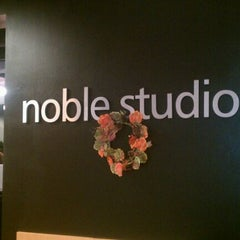 Photo taken at Noble Studios by Angie F. on 11/10/2011