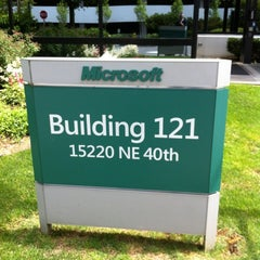 Photo taken at Microsoft, Bldg 121 by Mike G. on 6/28/2012