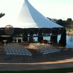 Photo taken at Centennial Lakes Park by Laura B. on 10/6/2011