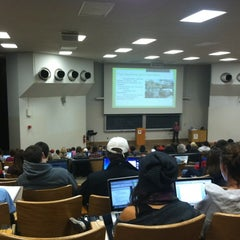 Photo taken at Mosse Humanities Building by Chase H. on 11/3/2011