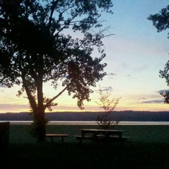 Photo taken at Esopus Lighthouse Park by Carolyn B. on 8/24/2011