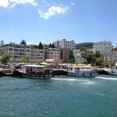 Photo taken at Büyükada Motor İskelesi by Ayse Nur G. on 7/19/2012