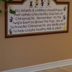Photo taken at Schroeder Chiropractic by Heather C. on 4/11/2012