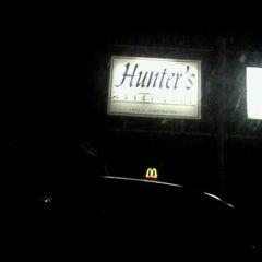 Photo taken at Hunter's Night Club by Robb G. on 11/13/2011