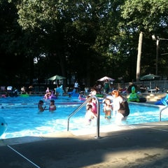 Photo taken at Old Orchard Swim Club by Tamer T. on 8/11/2011