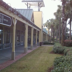 Photo taken at Tanger Outlet Hilton Head by Greg D. on 11/23/2011
