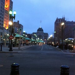 Photo taken at Kennedy Plaza Bus Terminal by Julianne D. on 6/23/2011