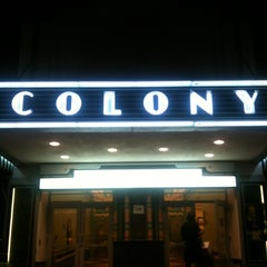 Photo taken at Colony Theater by Melanie N. on 4/10/2012
