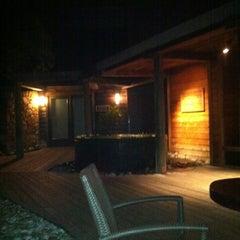 Photo taken at The Restaurant at Ventana Inn by Felipe O. on 1/2/2012
