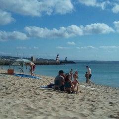 Photo taken at Praia da Batata by Monicat on 8/23/2011