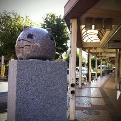 Photo taken at ももねこ様像 by いろいろいくよ on 11/26/2011