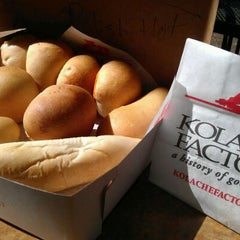 Photo taken at Kolache Factory by Jeremy on 10/15/2011