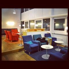Photo taken at SAS Business Lounge by aki on 12/7/2011