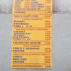 Photo taken at Servicio Plutarco - Estética Automotriz by Penny M. on 1/21/2012