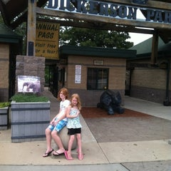Photo taken at Dickerson Park Zoo by P. Todd F. on 7/30/2012
