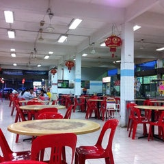 Photo taken at BFC Food Centre by Rong Jun B. on 9/11/2011