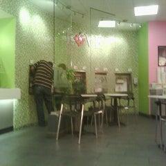 Photo taken at LOVE Frozen Yogurt Bar by E- C. on 3/6/2012