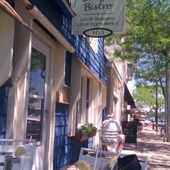 Photo taken at Roquette Burger Bistro by Ryan G. on 7/3/2011