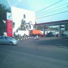 Photo taken at SPBU Pertamina by Henny n. on 5/9/2011