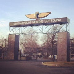 Photo taken at Indianapolis Motor Speedway by Eric D. on 3/6/2012