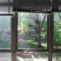 Photo taken at Neuberger Hall (PSU) by Leighta L. on 5/14/2012