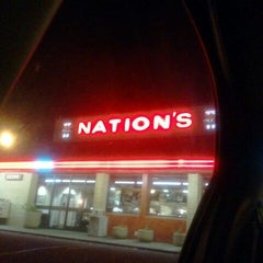Photo taken at Nation's Giant Hamburgers by Amyya D. on 1/14/2012