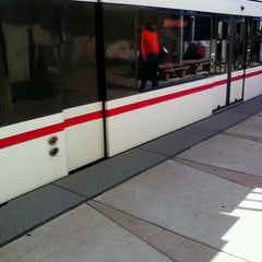 Photo taken at MetroLink - Forest Park Station by Michelle B. on 10/2/2011
