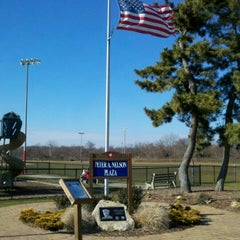 Photo taken at Peter Nelson Memorial Park (formerly Oakwood Park) by Christian A. on 1/28/2012