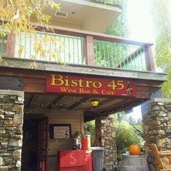 Photo taken at Bistro 45 by Scott S. on 10/15/2011