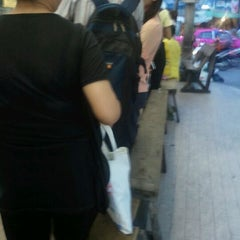 Photo taken at วินมอเตอร์ไซค์ (MRT สุทธิสาร) by Surasak S. on 3/14/2011