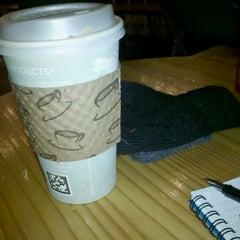 Photo taken at Caffe Strada by Amanda B. on 11/22/2011