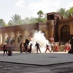 Photo taken at Indiana Jones Epic Stunt Spectacular! by Undercover Tourist on 9/12/2011
