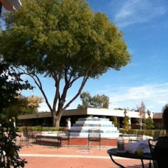 Photo taken at Fluor Fountain by Aaron F. on 11/13/2011