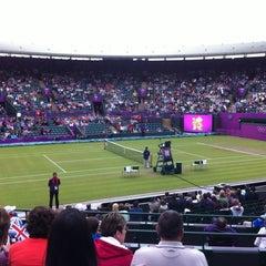 Das Foto wurde bei The All England Lawn Tennis Club von ahmed am 8/1/2012 aufgenommen