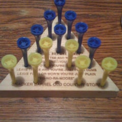 Photo taken at Cracker Barrel Old Country Store by Steve N. on 5/8/2011