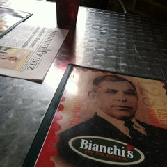 Photo taken at Bianchi's Pizzeria by Steve P. on 8/28/2012