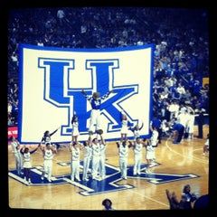 Photo taken at Rupp Arena by Madison on 1/21/2012