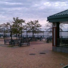 Photo taken at Canarsie Pier by jibril s. on 9/17/2011