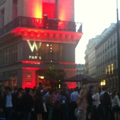 Photo taken at W Paris – Opéra by Stella on 6/21/2012