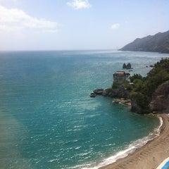 Photo taken at Lloyd's Baia Hotel by Fabio M. on 5/16/2012