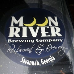Photo taken at Moon River Brewing Company by Lisa M. on 4/16/2012