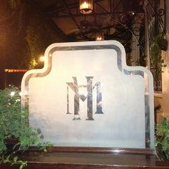 Photo taken at La Terrasse @ Sofitel Metropole Hotel by Helen Do (. on 5/16/2012