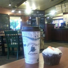 Photo taken at Caribou Coffee by Ryan L. on 5/13/2012