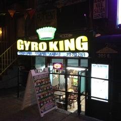 Photo taken at NYC Gyro King by Abi P. on 5/19/2012