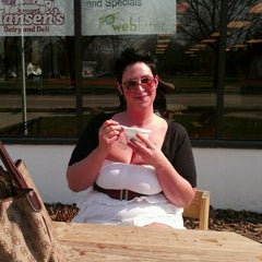 Photo taken at Hansen's Dairy and Deli by Lisa E. on 3/21/2012
