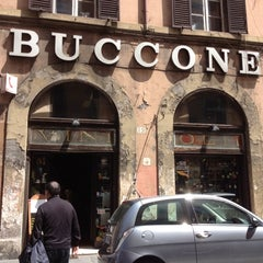 Photo taken at Enoteca Buccone by Maria R. on 5/24/2012