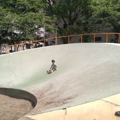 Photo taken at 両国公園 by ussy1110 on 5/20/2012