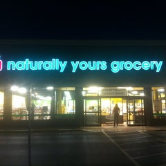 Photo taken at Naturally Yours Grocery by Justin H. on 7/31/2012